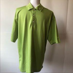 Nike Golf Polo shirt men's large green